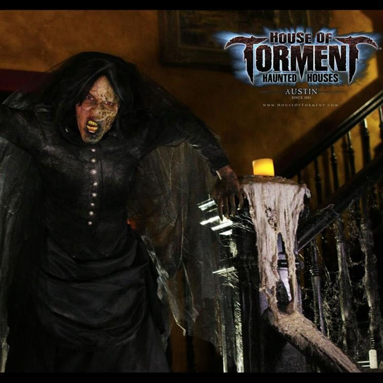 Haunted Abandoned Places In San Antonio: House Of Torment Austin In Austin TX